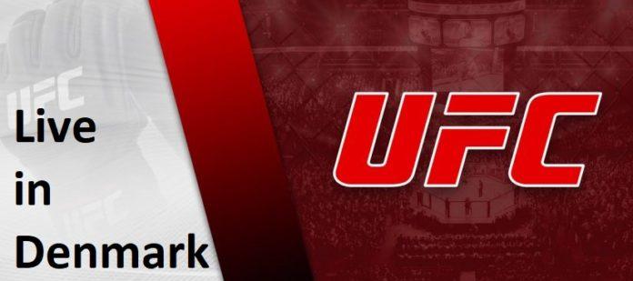 watch UFC Live in Denmark