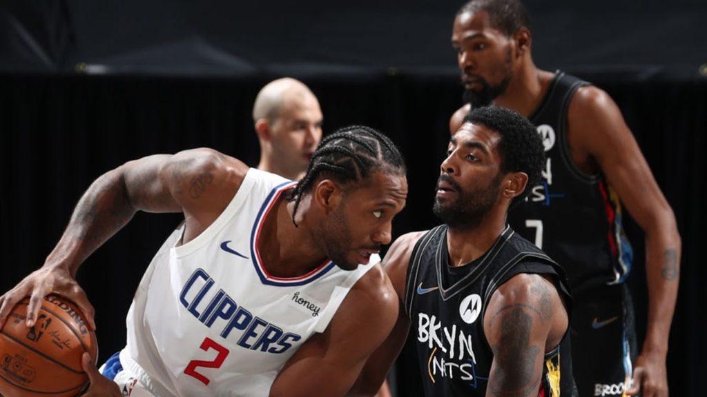 Brooklyn Nets vs LA Clippers 21 february nba action