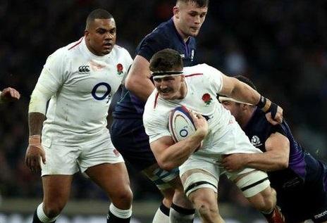 England vs Scotland rugby game