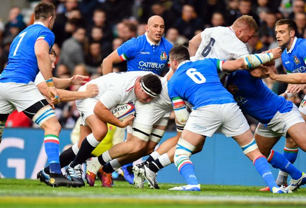 England vs italy rugby match