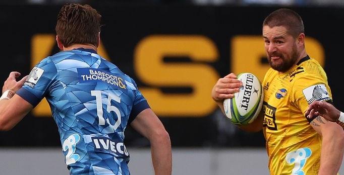 Hurricanes vs Blues super rugby match