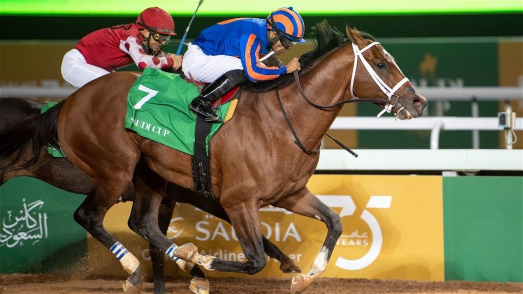 Saudi Cup 2021 horse race
