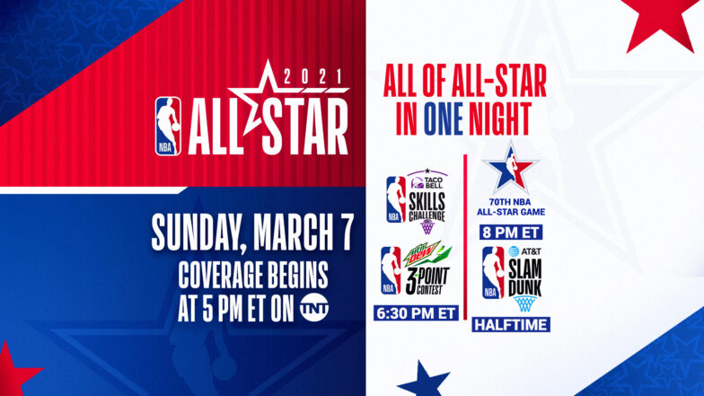 Are you ready for the NBA All Star game of 7 March