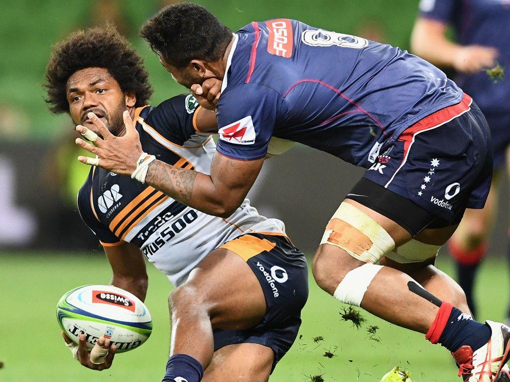 Brumbies vs Rebels super rugby game