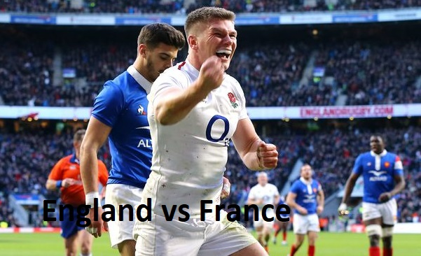 England vs France rugby game of six nations