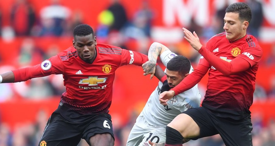 Manchester United vs West Ham 14 March epl game
