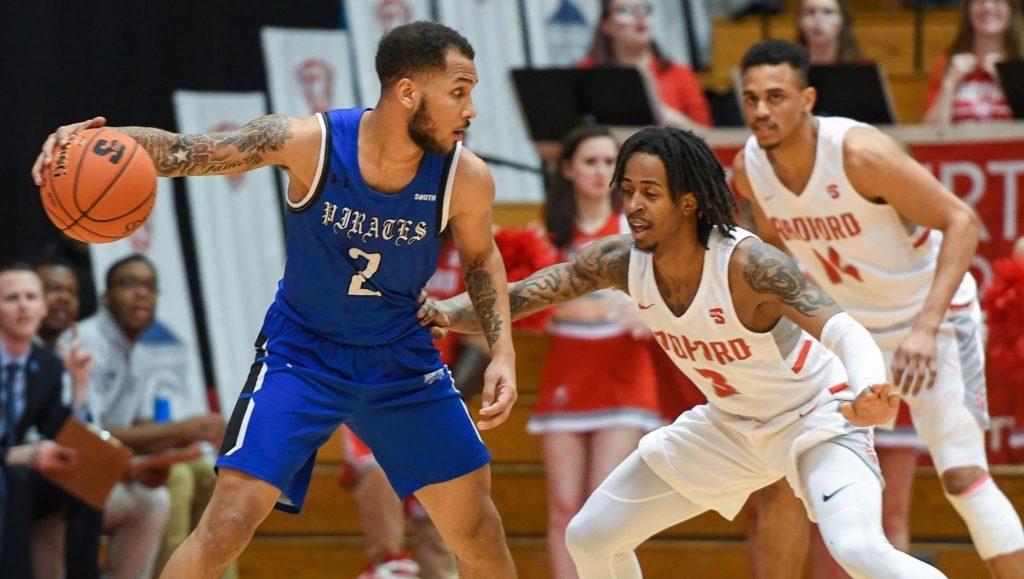 Radford vs Hampton today college basketball game