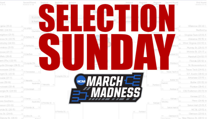 Selection Sunday March Madness