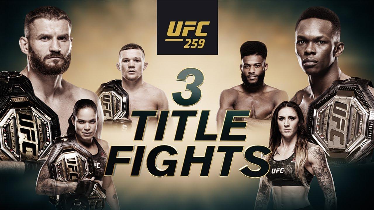 ufc 259 fight