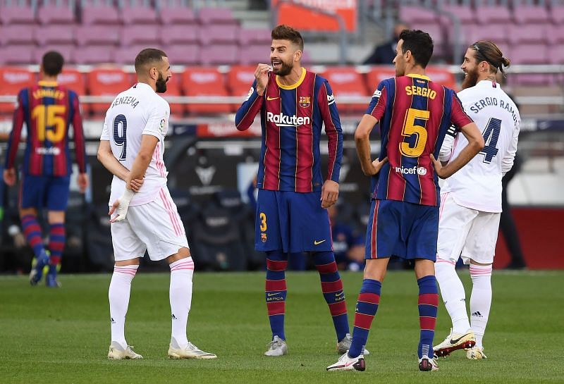 Barcelona vs Real Madrid Live 2021