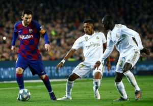 La Liga Barcelona vs Real Madrid