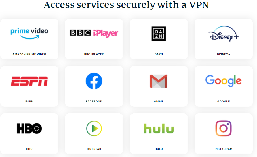 unblock stream services from anywhere