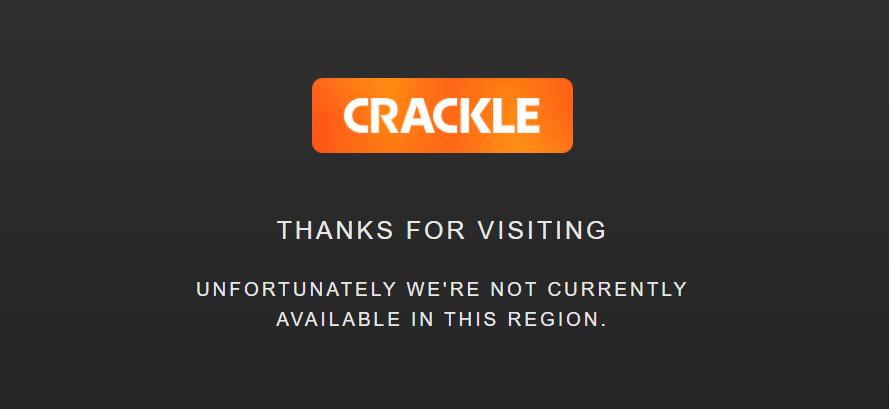Crackle Geo error message