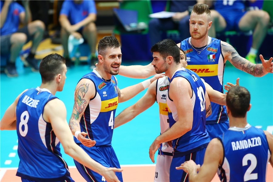 italy volleyball team ready for clash tonight