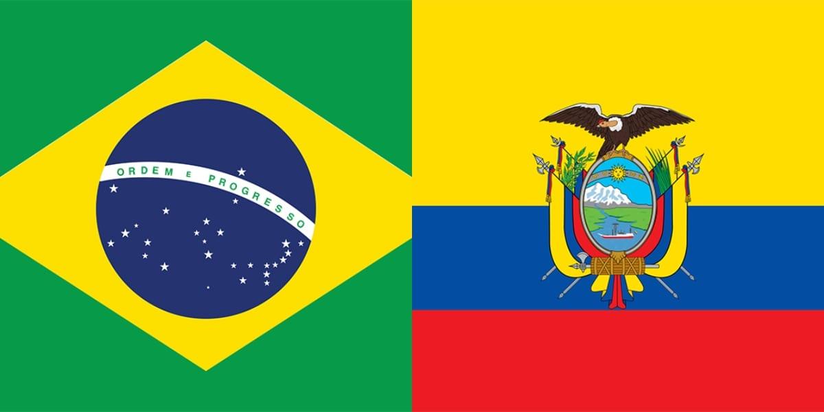 Brazil vs Ecuador hd wallpaper