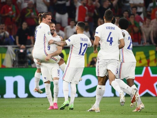 Euro round of 16 France vs Switzerland