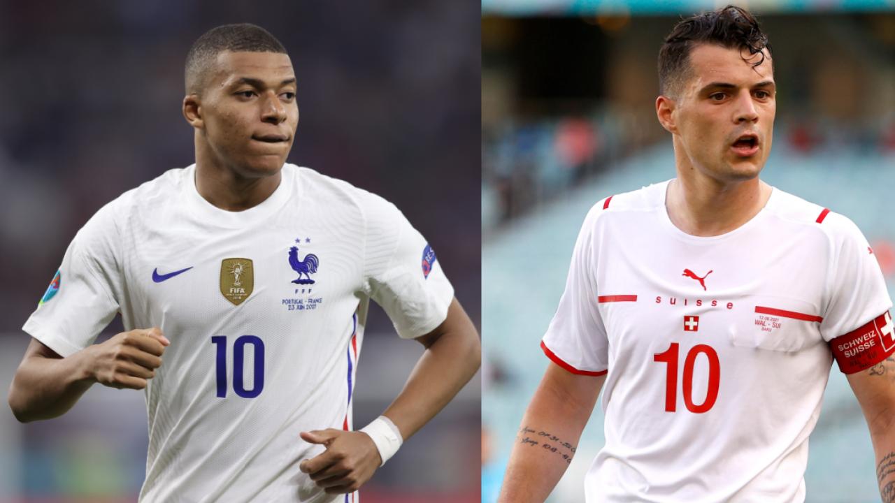 France vs Switzerland players