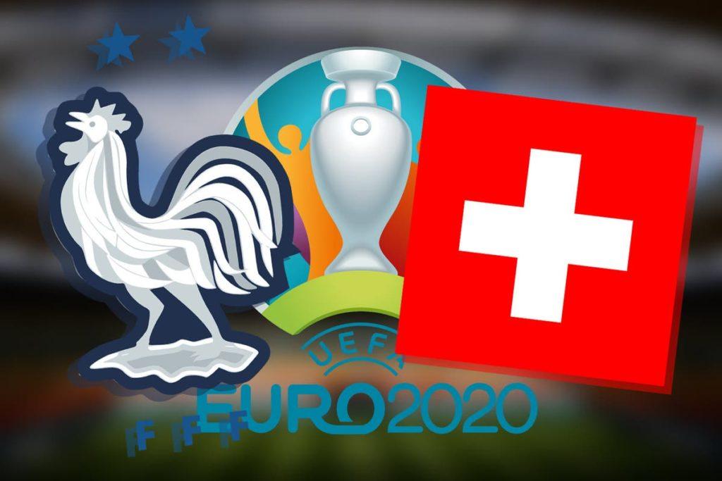 France vs Switzerland round of 16 clash