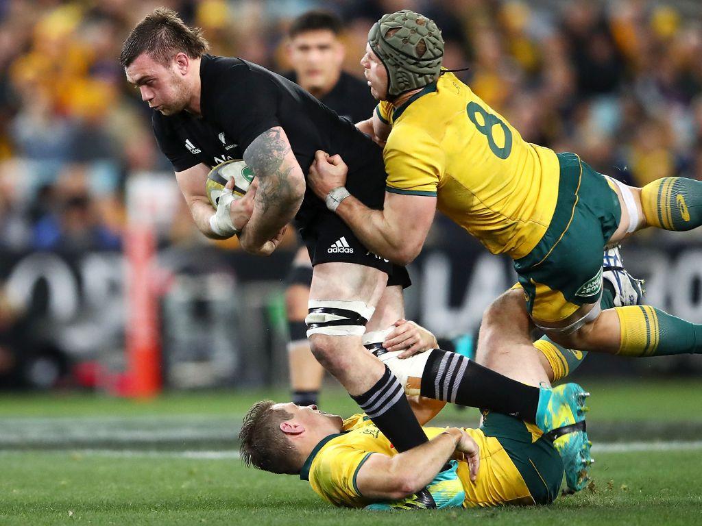 New Zealand vs Australia rugby game
