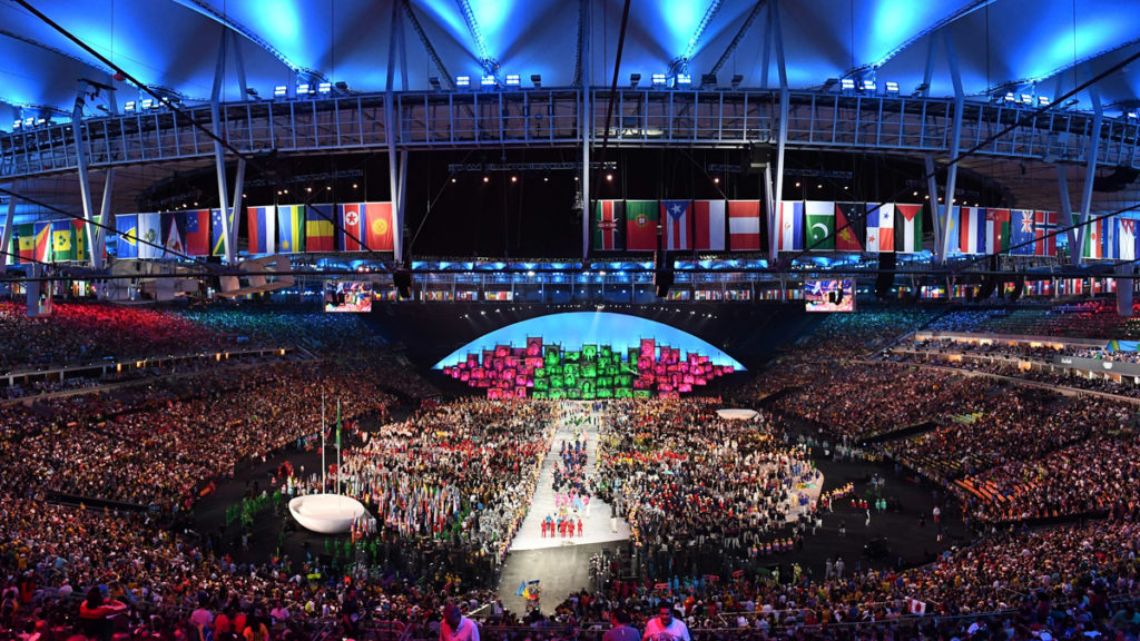 Olympics opening ceremony program