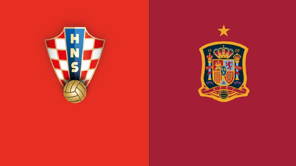 Spain vs Croatia football fixture