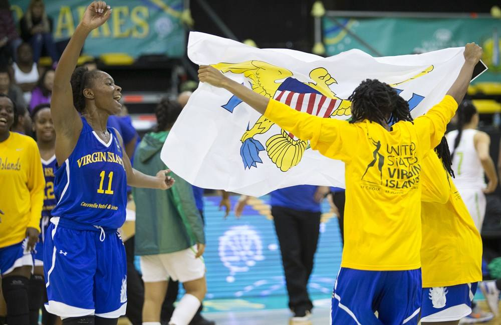Virgin island basketball team