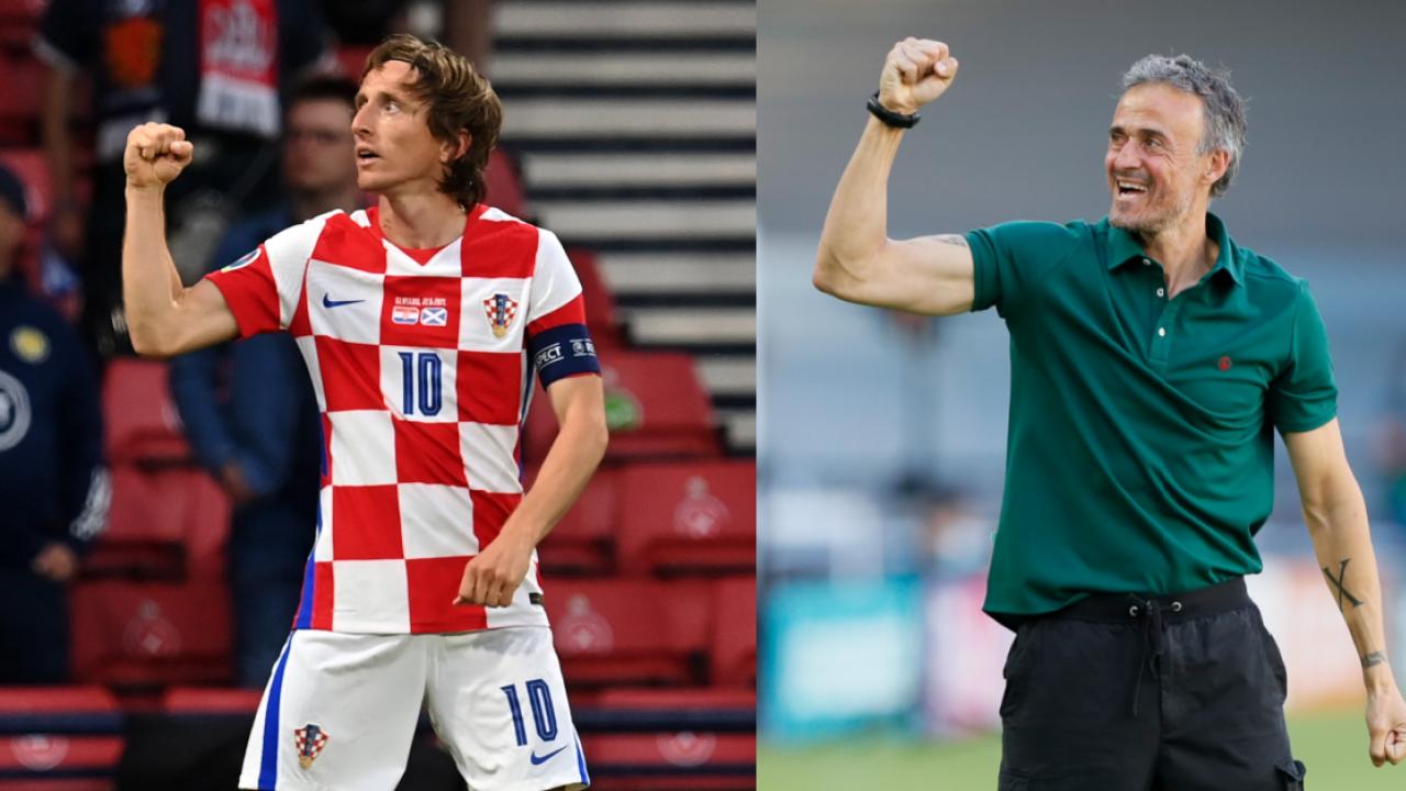 Who will win Spain vs Croatia tonight Euro Round of 16