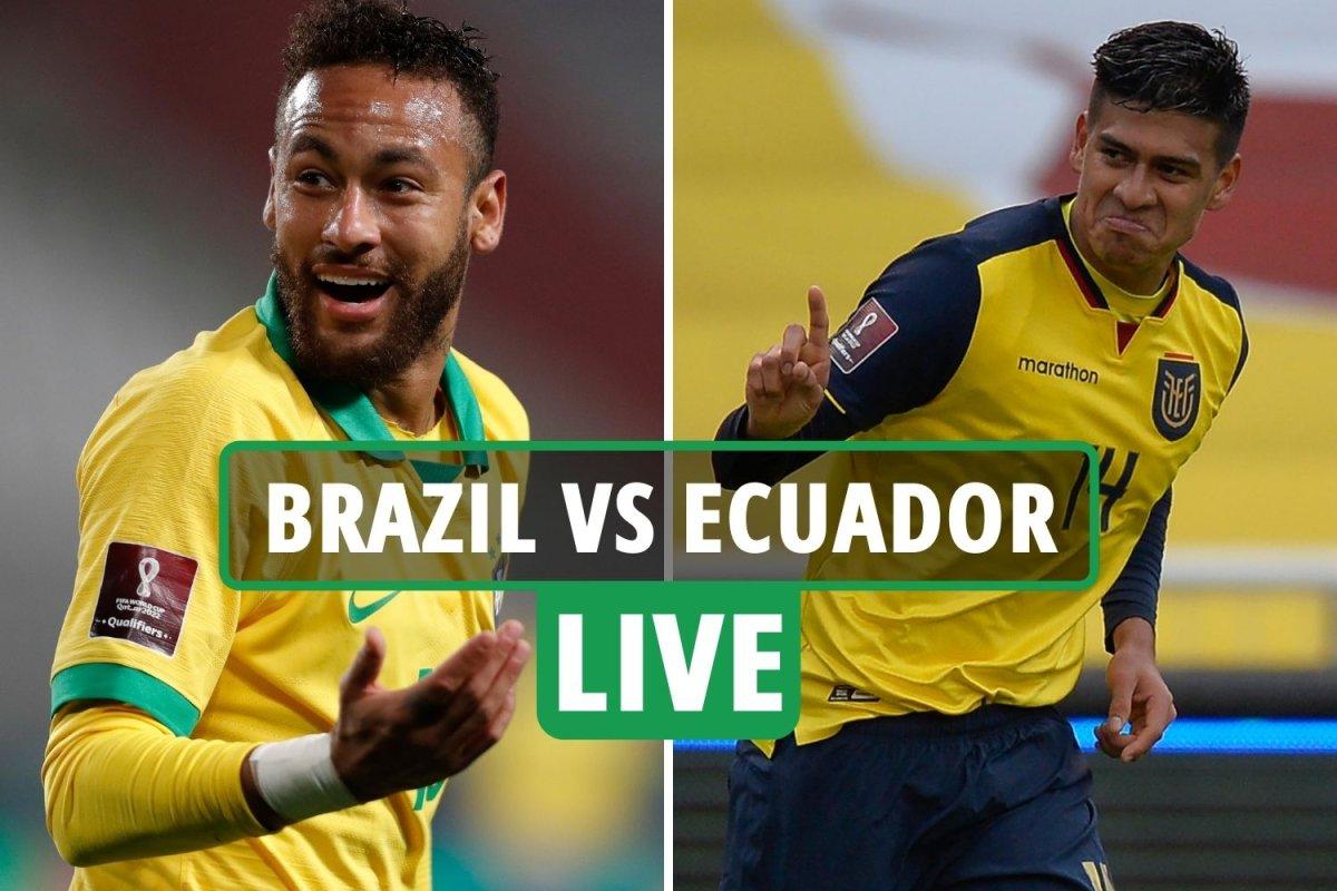 today brazil vs ecuador 27 june copa america match