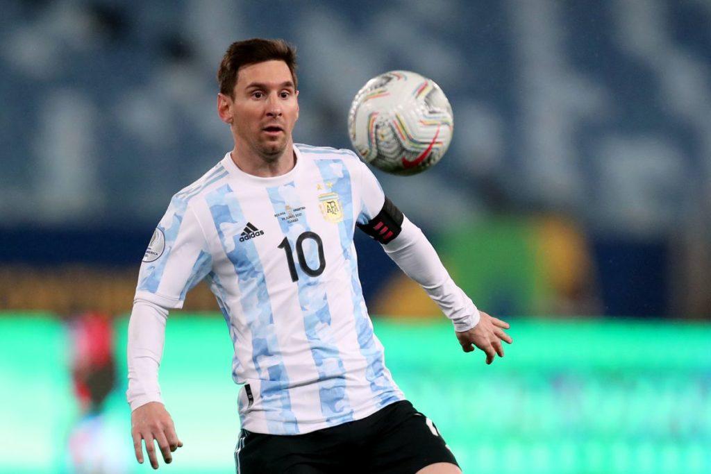Argentina vs brazil football game