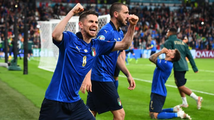 Italy vs England battle of the Euro Title