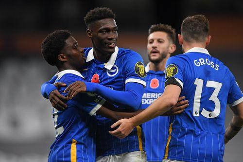 Brighton Hove Albion players
