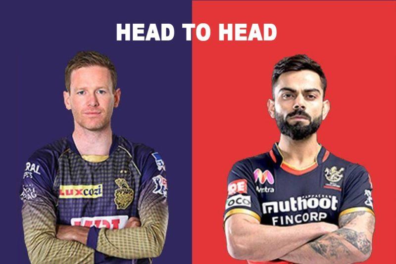 KKR vs RCB head to head battle e1632115748188